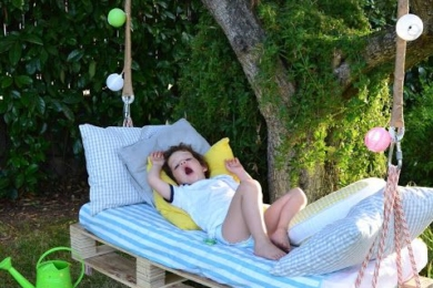 Дитячий відпочинок на дачі