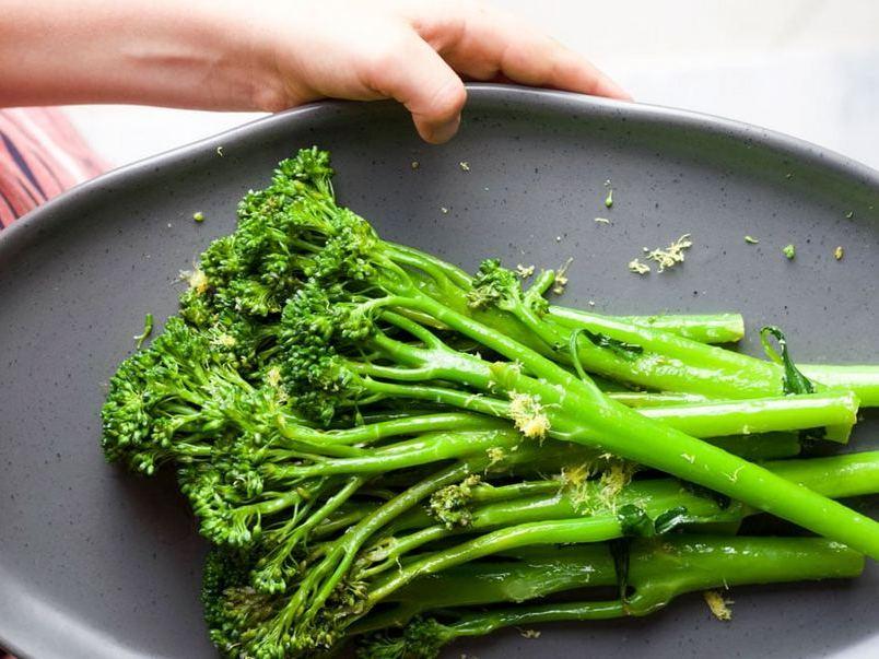 Броколіні - міні-гібрид броколі з листовою капустою