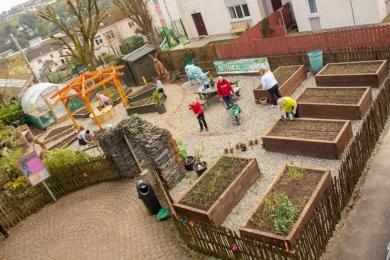 Переможець категорії «Громадський сад» — Bastion Allotments, Fountain Estate, Londonderry
