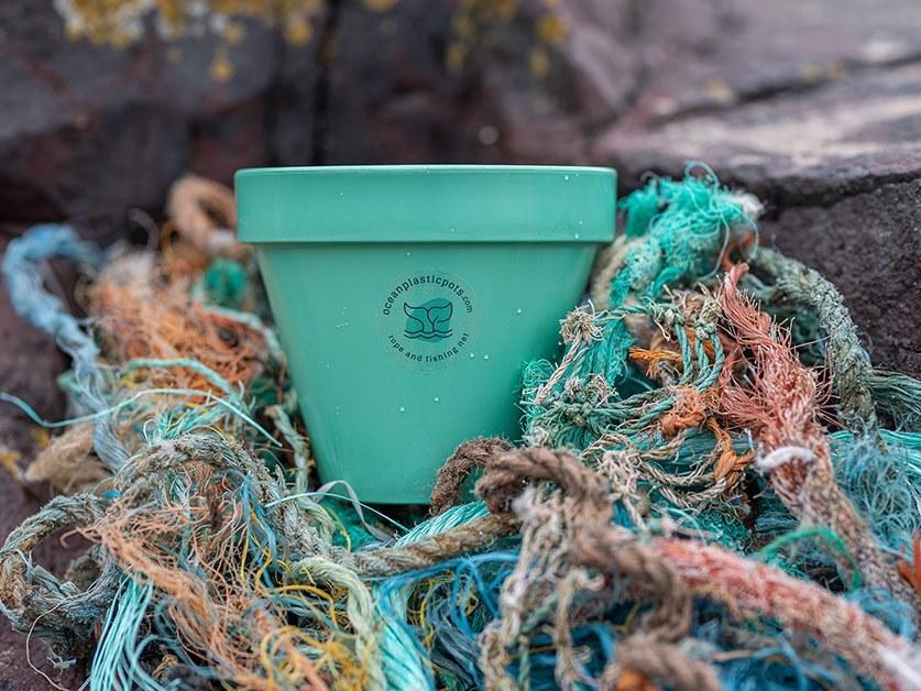 Океанський пластиковий горщик (Ocean Plastic Pots)