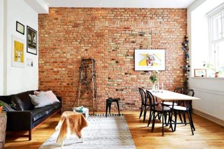 Акцентна стіна в інтер'єрі — 30 ідей з фото