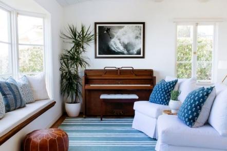Піаніно в інтер'єрі — 24 ідеї з фото