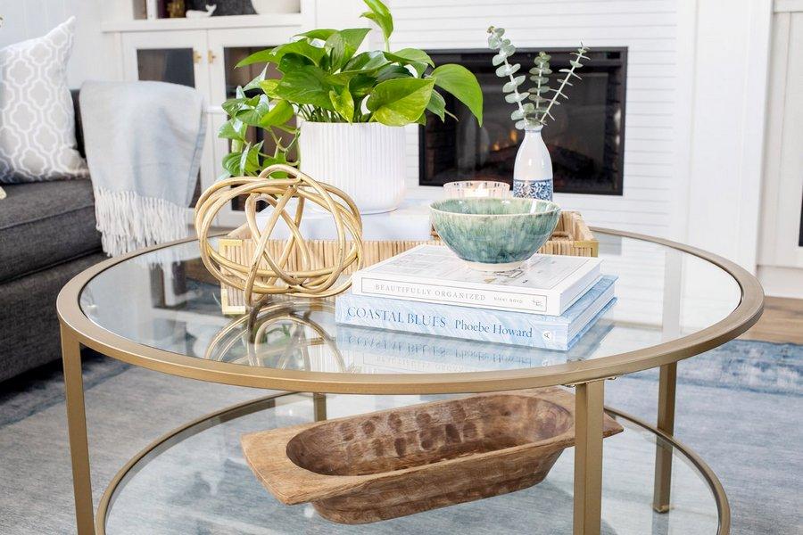 Декор кавового столика — 30 ідей з фото