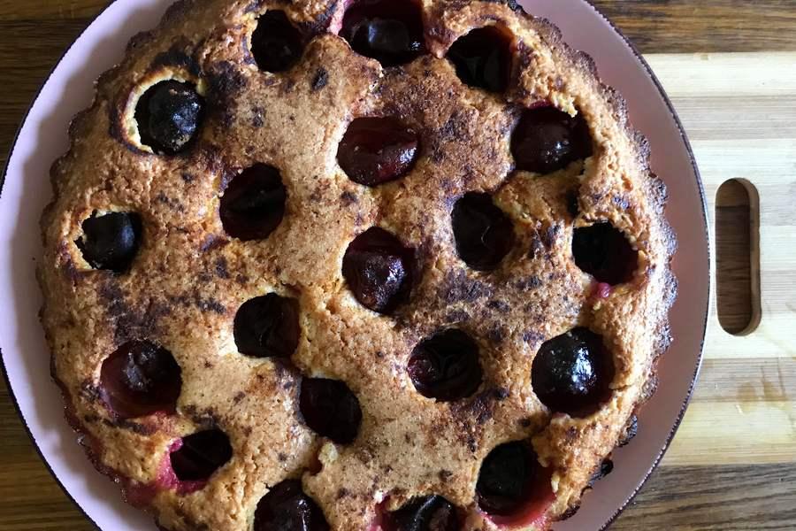 Сливовий пиріг за рецептом Нью-Йорк Таймс