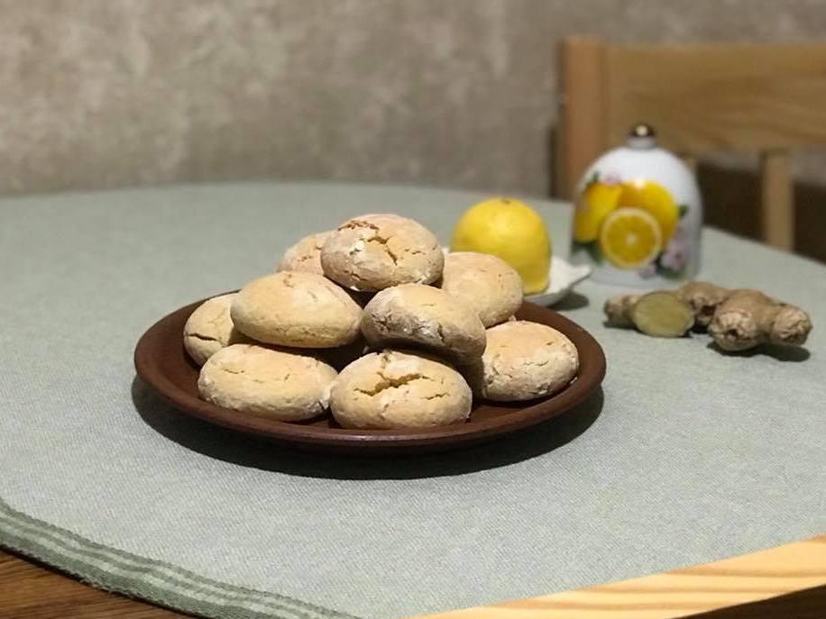 Пряники — рецепт з лимоном і імбиром
