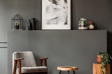 Сірі стіни в інтер'єрі, або Сірий не дорівнює нудно — 30 ідей з фото